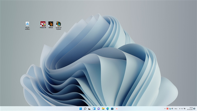 Meniul Start și bara de activități din Windows 11 sunt centrate