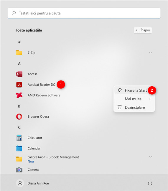Cum fixezi la Meniul Start orice aplicație instalată pe PC-ul tău cu Windows 11