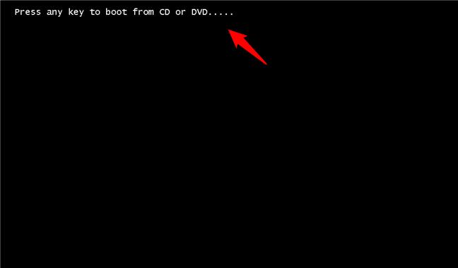 Lansarea expertului de instalare Windows 11