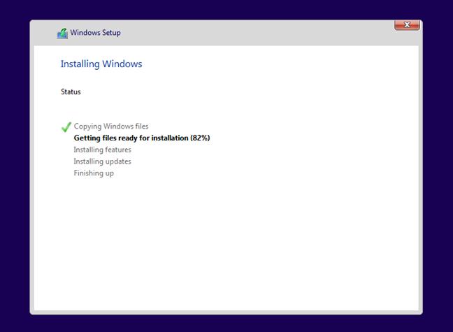 Windows 11 se instalează
