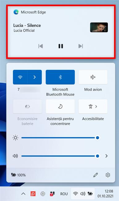 Microsoft Edge adaugă un panou pentru control media