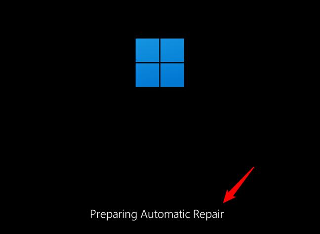 Cum deschizi Windows 11 în Safe Mode folosind repararea automată