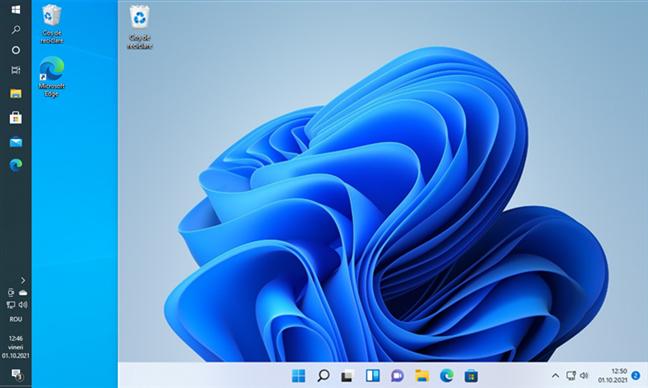 Bara de activități din Windows 11 nu poate fi mutată sus sau în lateralele ecranului