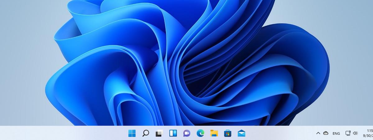 Windows 11 bara de activități