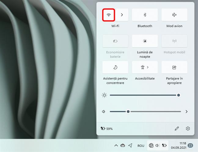 Cum activezi Wi-Fi în Windows 11