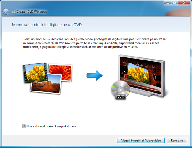 Creator DVD Windows a fost eliminat din Windows 10