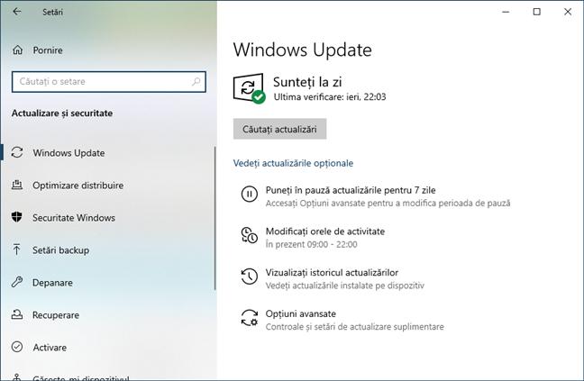 Opțiunea de a opri actualizările Windows nu mai este prezentă în Windows 10