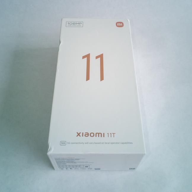 Cutia în care sosește Xiaomi 11T