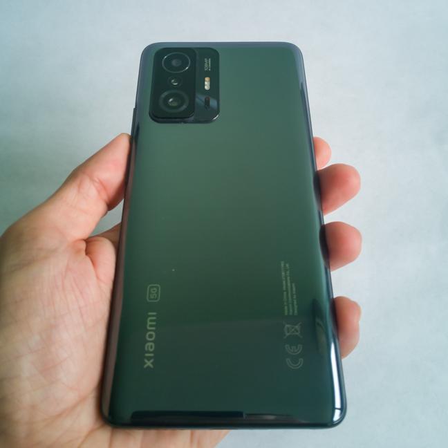 Spatele telefonului Xiaomi 11T
